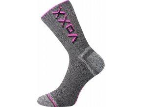 Sportovní Ponožky VoXX Hawk neon růžová