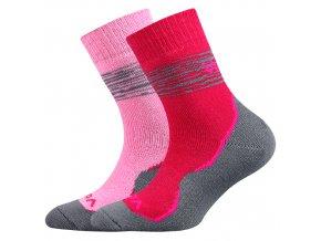 Dětské ponožky 2 kusy v balení VoXX Prime mix dívčí