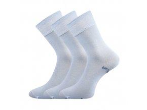 Zdravotní ponožky 3 kusy v balení Lonka Bioban světle modrá