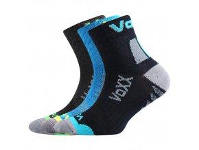 Dětské ponožky 3 kusy v balení Kriptoxik chlapec