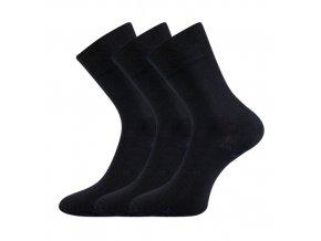 Zdravotní ponožky 3 kusy v balení Lonka Bioban tmavě modrá