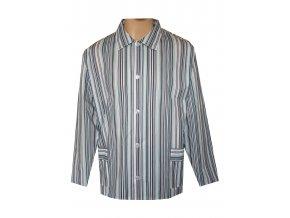 Pánský Pyžamový Kabátek Plátěný FOLTÝN PPK06