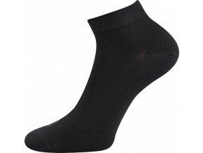 Bambusové ponožky 3 kusy v balení Lonka Desi černá