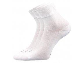Zdravotní ponožky 3 kusy v balení Lonka Emi bílá