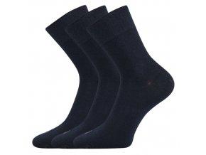 Zdravotní ponožky 3 kusy v balení Lonka Emi tmavě modrá
