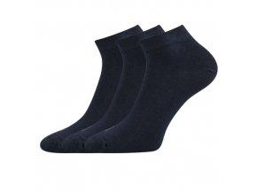 Zdravotní ponožky 3 kusy v balení Lonka Esi tamvě modrá