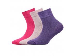 Dětské ponožky 3 kusy v balení Boma Emko mix A