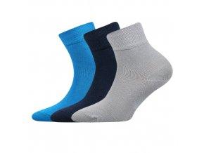 Dětské ponožky 3 kusy v balení Boma Emko mix B
