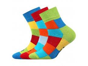 Dětské ponožky 3 kusy v balení Lonka Decubik mix A