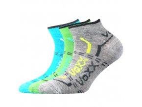 Dětské ponožky 3 kusy v balení VoXX Rexík 01 mix C