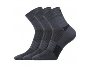 Ponožky VoXX Daily tmavě šedá 3 kusy v balení
