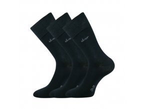 Společenské ponožky 3 kusy v balení Lonka Desilve tmavě modrá