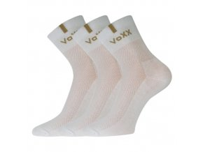 Ponožky VoXX 3 kusy v balení Fredy bílá