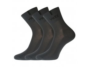 Ponožky VoXX 3 kusy v balení Fredy tmavě šedá