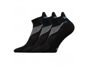 Ponožky VoXX 3 kusy v balení Iris černá