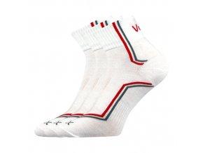 Ponožky VoXX 3 kusy v balení Kroton bílá