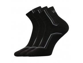 Ponožky VoXX 3 kusy v balení Kroton černá