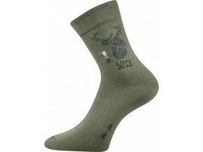 Myslivecké Ponožky VoXX Lassy Jelen