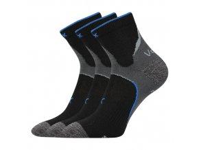Ponožky VoXX 3 kusy v balení Maxter černá
