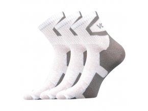 Ponožky VoXX 3 kusy v balení Oskar bílá