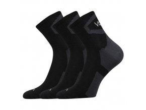 Ponožky VoXX 3 kusy v balení Oskar černá