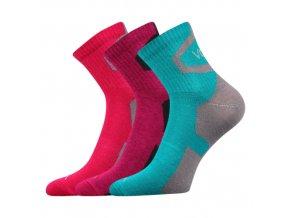 Ponožky VoXX 3 kusy v balení Oskar Mix A