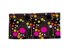 Multifunkční šátek Novia 14 pestrobarevný abstraktní vzor