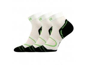 Sportovní Ponožky VoXX Dexter 3 kusy v balení bílá