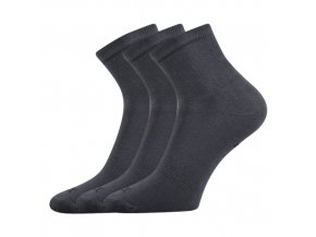 Sportovní Ponožky 3 kusy v balení VoXX Regular Tmavě Šedá