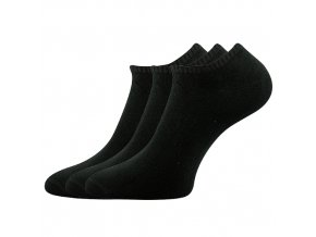 Kotníkové ponožky 3 kusy v balení Boma Rypi černá