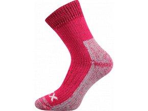 Froté Ponožky VoXX Alpin Růžová