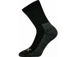 Froté Ponožky VoXX Alpin Tmavě Černá