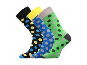 Společenské ponožky 3 kusy v balení Lonka Wearel 003