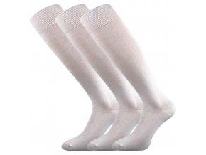 Zdravotní podkolenky 3 kusy v balení Lonka Hertz bílá