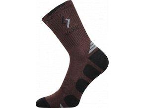 Ponožky VoXX Tronic hnědá