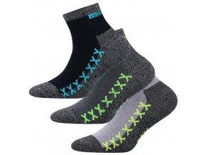 Dětské ponožky 3 kusy v balení VoXX Vectorik chlapec