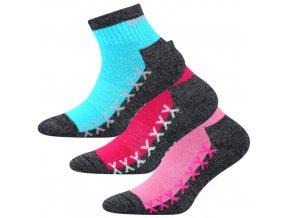 Dětské ponožky 3 kusy v balení VoXX Vectorik dívka