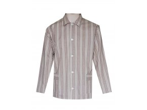 Pánský Pyžamový Kabátek Plátěný FOLTÝN PPK11