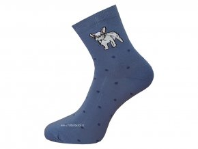 Dámské Společenské Ponožky Wola artikl 415 modré