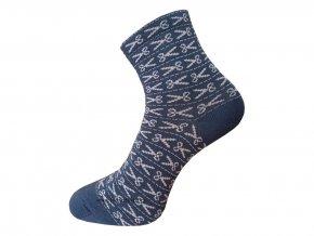 Dámské Společenské Ponožky Wola artikl 780 modré