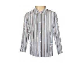 Pánský Pyžamový Kabátek Plátěný FOLTÝN PPK14
