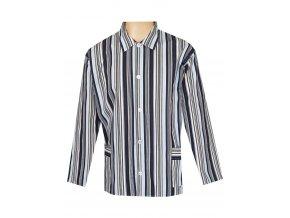 Pánský Pyžamový Kabátek Plátěný FOLTÝN PPK15