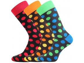Společenské ponožky 3 kusy v balení Lonka Wearel 019