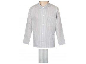 Pánský Pyžamový Kabátek Popelín FOLTÝN PPKP01