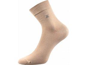 Zdravotní ponožky 3 kusy v balení Lonka Dion béžová