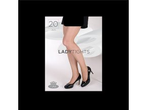 Punčochové kalhoty Boma Lady tights 20 den černá