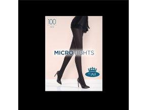 Punčochové kalhoty Boma Micro Tights 100 den černá