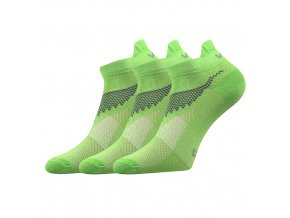 Ponožky VoXX 3 kusy v balení Iris světle zelená