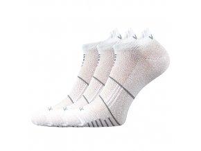Ponožky VoXX 3 kusy v balení Avenar bílá