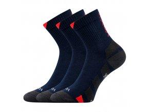 Ponožky VoXX 3 kusy v balení Gastl tmavě modrá
